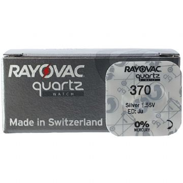 Rayovac 370 SR920W 1.5V Silver Oxide Watch Battery